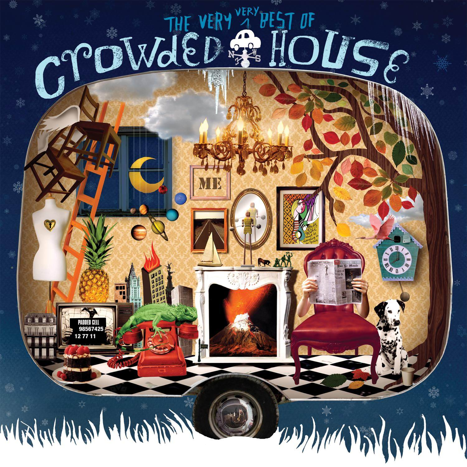 Crowded house the very very best of crowded house for Best house hits
