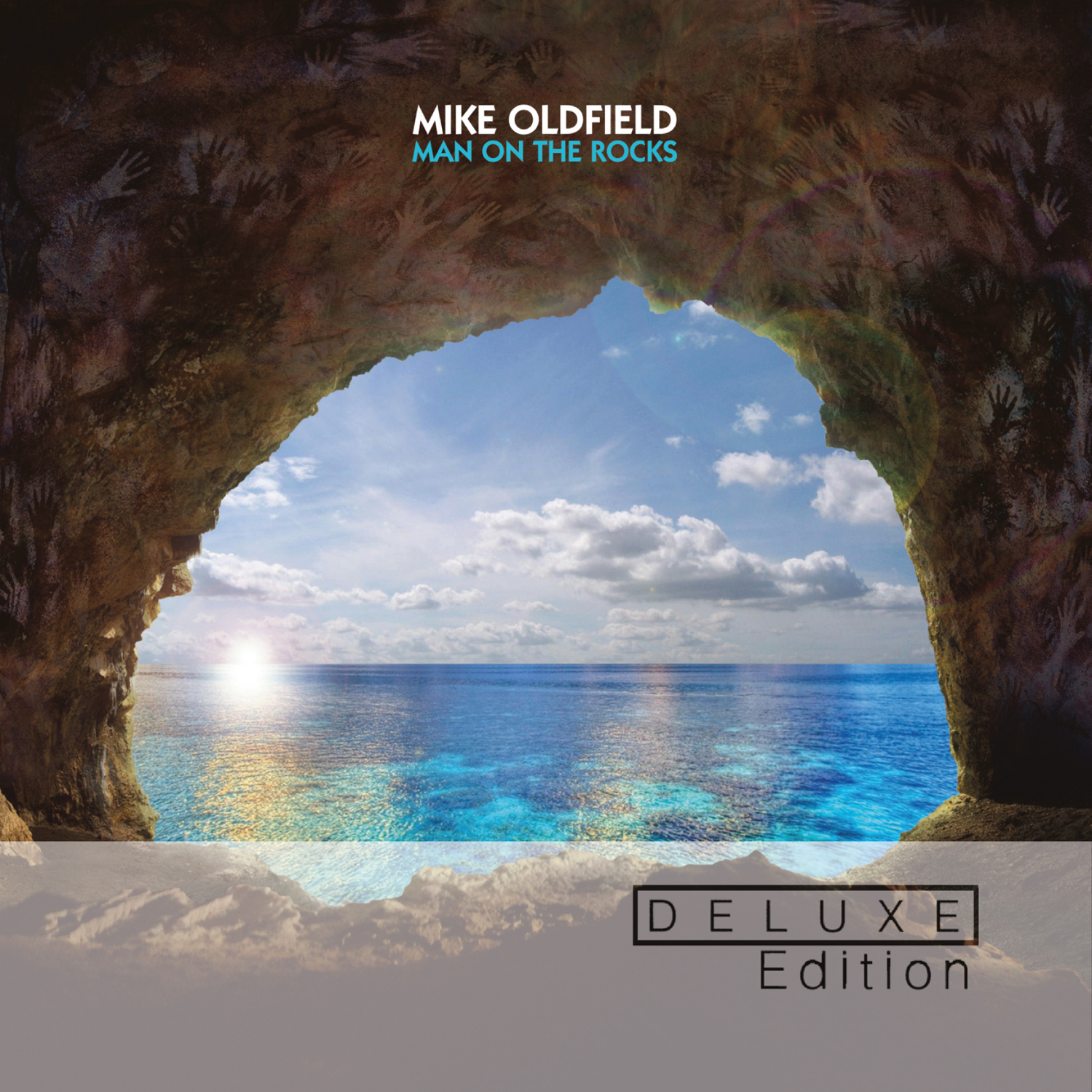 Mike Oldfield: Man On The Rocks - Cover