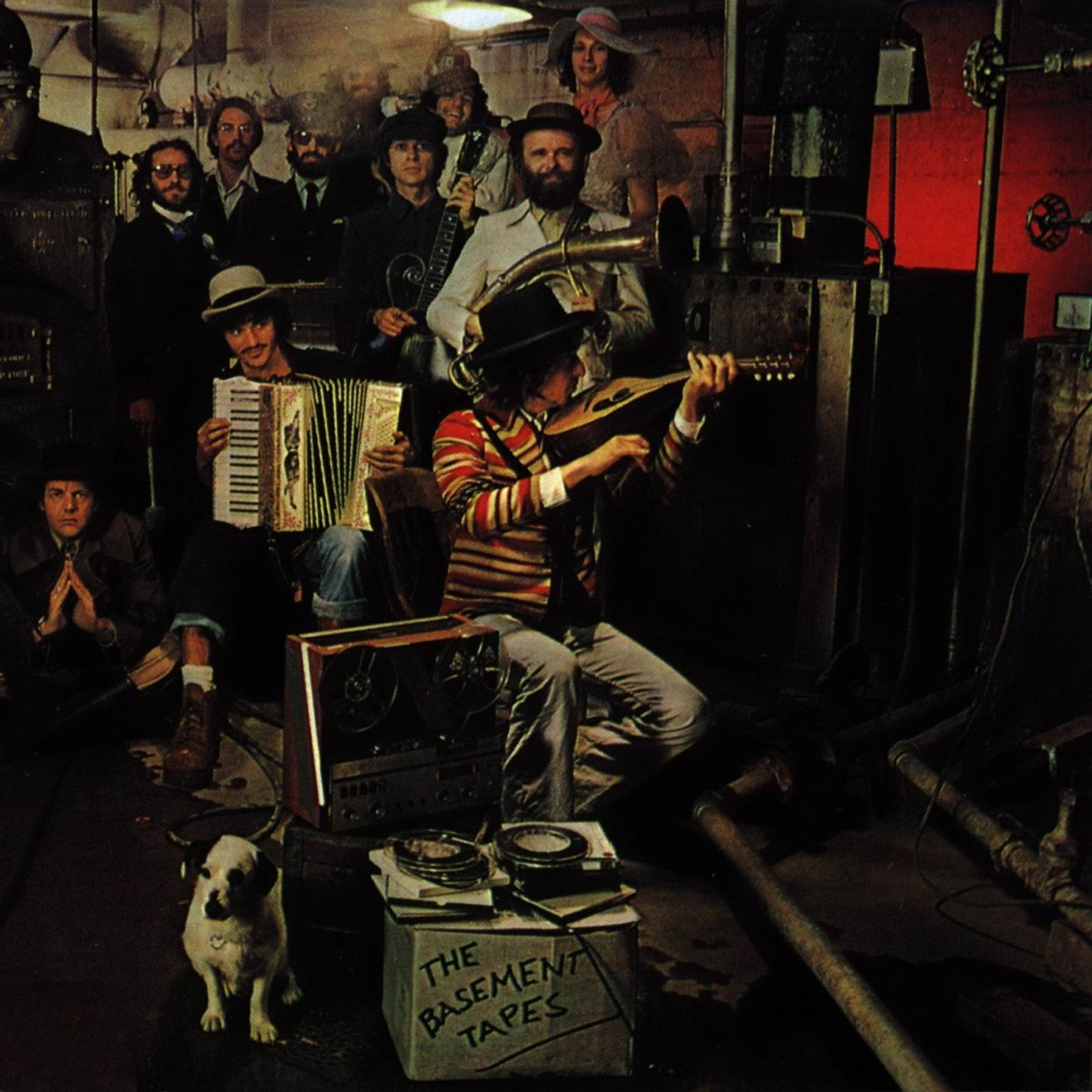 suburbanlovers bob dylan the band basement
