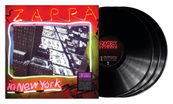 Zappa In New York Product Shot