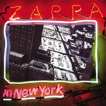 Zappa In New York LP Cover