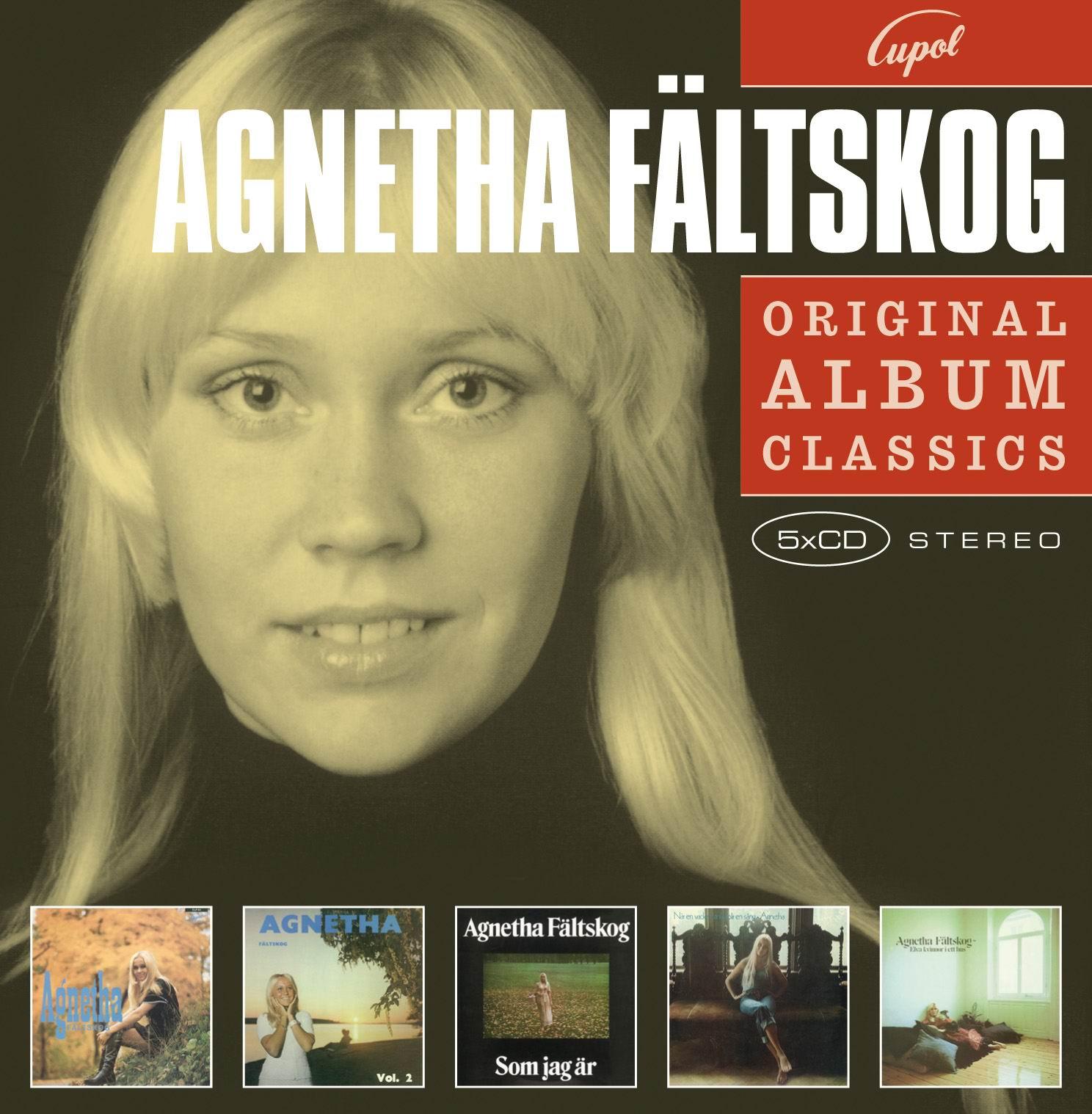 agnetha f ltskog original album classics 5 cds. Black Bedroom Furniture Sets. Home Design Ideas